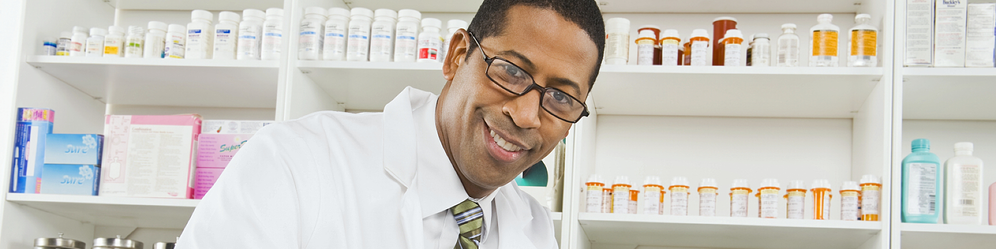 african american doctor smiling at camera
